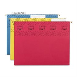 Smead TUFF Easy Slide Tabs Colored Hanging Folders