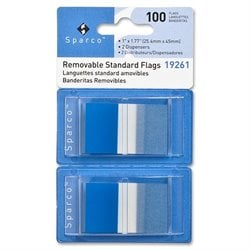 Sparco Removable Standard Flags Dispenser (Set of 100)