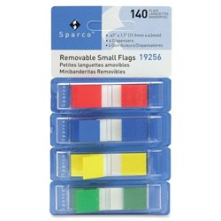 Sparco Pop-up Removable Small Flags (Set of 140)