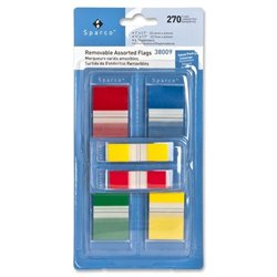 Sparco Removable Flags Combo Pack (Set of 270)