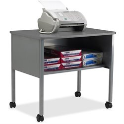 Mayline One Shelf Mobile Machine Stand