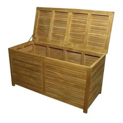 Anderson Teak Camrose Outdoor Storage Box in Natural