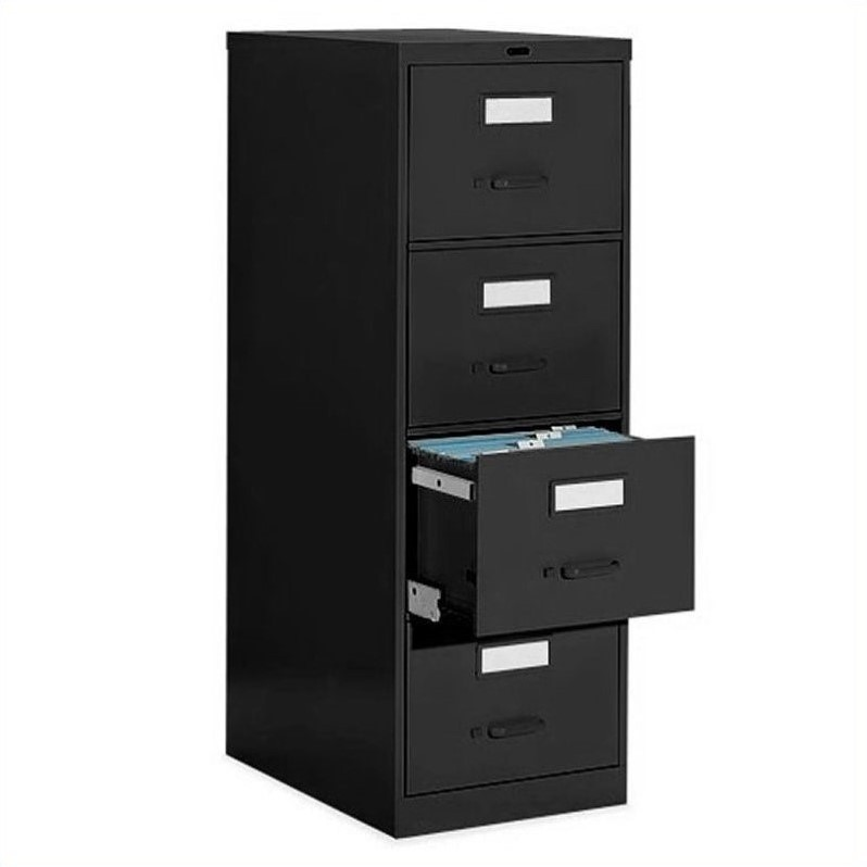 Global Office 4 Drawer Vertical Metal File Cabinet