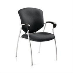 Global Supra Guest ArmGuest Chair in Graphite