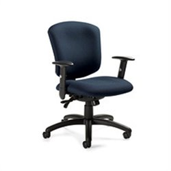 Global Supra X Medium Back Multi Tilter Office Chair in Sapphire