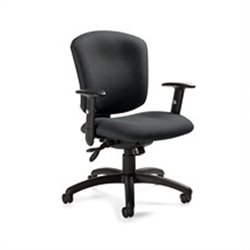 Global Supra X Medium Back Multi Tilter Office Chair in Graphite