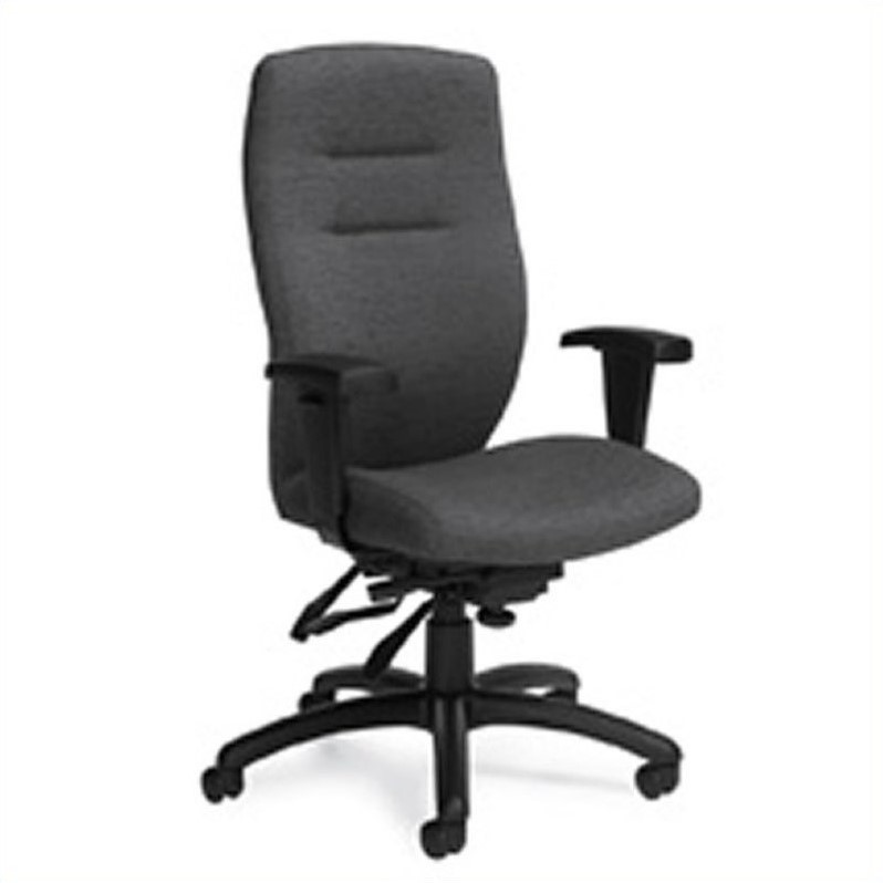 Global Synopsis High Back Multi Tilter Office Chair in Granite Rock
