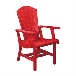 Generations Adirondack Patio Dining Arm Chair