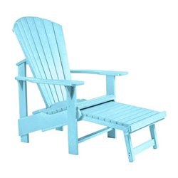 Generations Upright Adirondack Chair with Stool