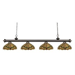 Z-Lite Riviera Billiard Light in Olde Bronze OB-C14