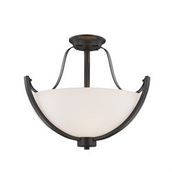 Halliwell Semi Flush Mount (3 Light)