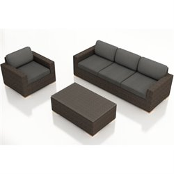Harmonia Living Arden 3 Piece Outdoor Sofa Set HL-ARD-CH-3SS