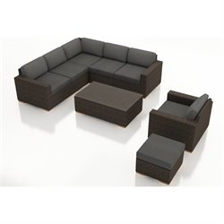Harmonia Living Arden 8 Piece Outdoor Sofa  Set