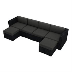 Harmonia Living Urbana 6 Piece Outdoor Sofa  Set