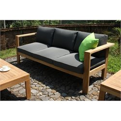 Harmonia Living Ando Patio Sofa in Teak