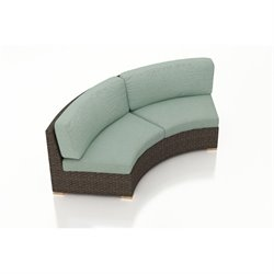 Harmonia Living Arden Curved Outdoor Sofa