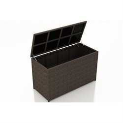 Harmonia Living Arden Deck Box in Chestnut