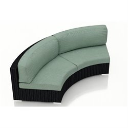 Harmonia Living Urbana Curved Outdoor Sofa