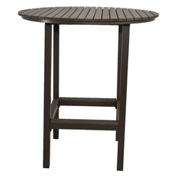 Patio Heaven Riviera Round Outdoor Pub Table