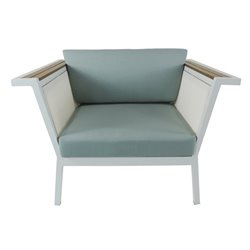 Patio Heaven Riviera Patio Chair in White