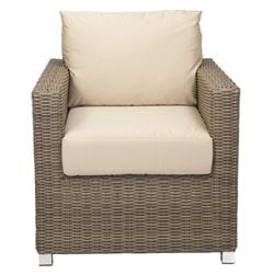 Patio Heaven Venice Patio Chair in Gray