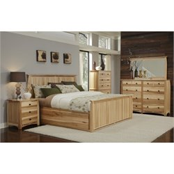 Adamstown Storage Bed in Natural