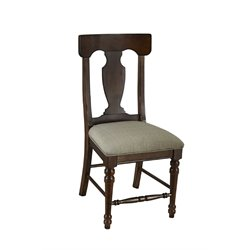 A-America Andover T-Back Dining Chair in Cherry