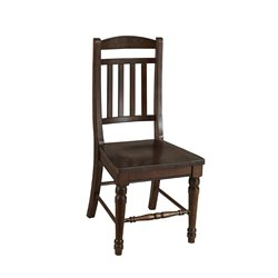 A-America Andover Slatback Dining Chair in Cherry