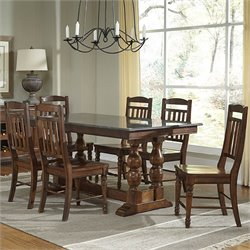 A-America Andover Counter Height Dining Set in Cherry