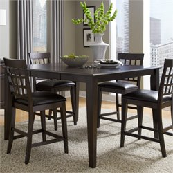 A-America Bristol Point Butterfly Counter Height Dining Table