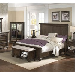 A-America Gallatin Panel Bed