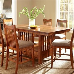 A-America Laurelhurst Extendable Dining Table in Mission Oak