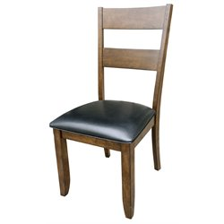 A-America Mariposa Ladderback Dining Chair in Rustic Whiskey