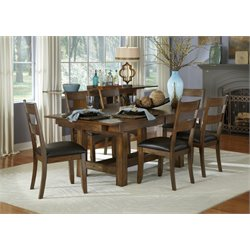 A-America Mariposa 7 Piece Extendable Dining Set