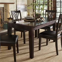 A-America Montreal Extendable Dining Table in Espresso