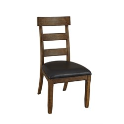 A-America Ozark Ladderback Dining Chair in Warm Pecan