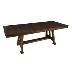 A-America Ozark Extendable Dining Table in Warm Pecan