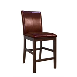 A-America Parson Leather Bar Stool