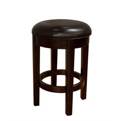 A-America Parson Swivel Leather Counter Stool