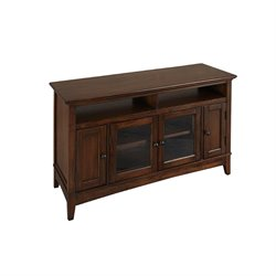 A-America Westlake TV Stand in Cherry Brown