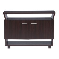 Furniture of America Warran Buffet in Walnut
