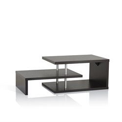 Furniture of America Brockton Coffee Table in Cappuccino