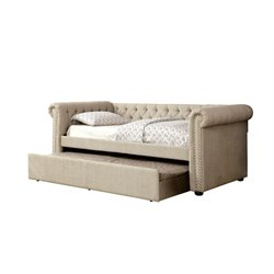 Hopper Tufted Daybed with Trundle