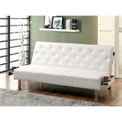 Felicity Leather Convertible Sofa