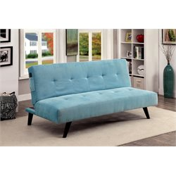 Tami Tufted Fabric Convertible Sofa