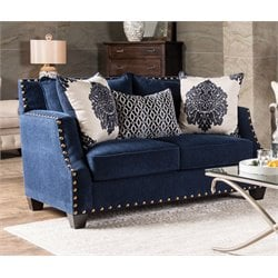 Lipscomb Upholstered Fabric Loveseat