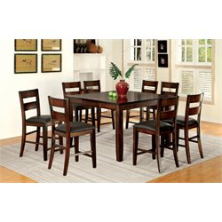 Furniture of America Arlen Extendable Counter Dining Set