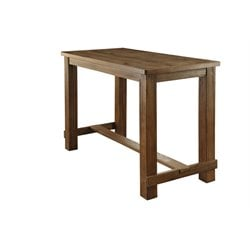 Furniture of America Whunter Pub Table in Natural Tone