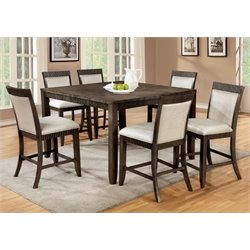Furniture of America Bonet Extendable Counter Dining Set