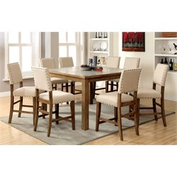 Furniture of America Spier Counter Height Dining Set